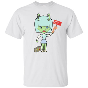 Alien Hitchiker Ultra Cotton T-Shirt - Newday Unlimited