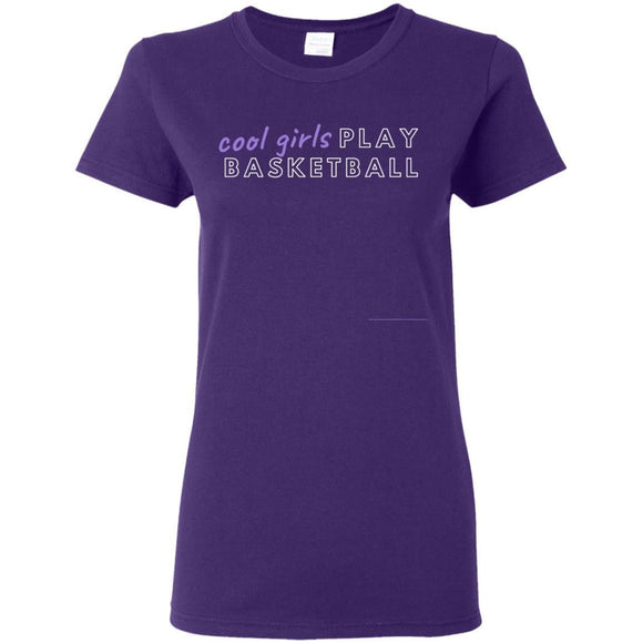 Cool girls play ball tee 5.3 oz. T-Shirt - Newday Unlimited