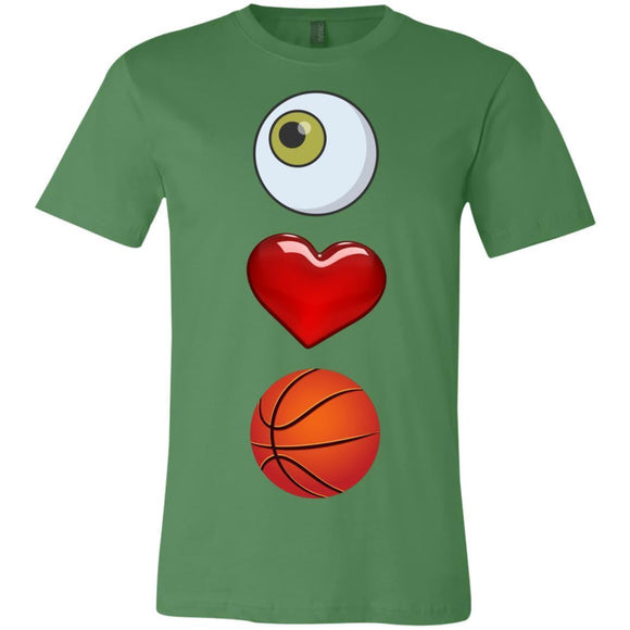 Eye Love Basketball Short-Sleeve T-Shirt - Newday Unlimited