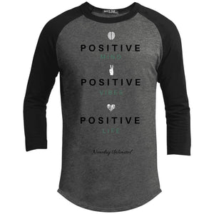 Positive life CEO Raglan T-Shirt - Newday Unlimited