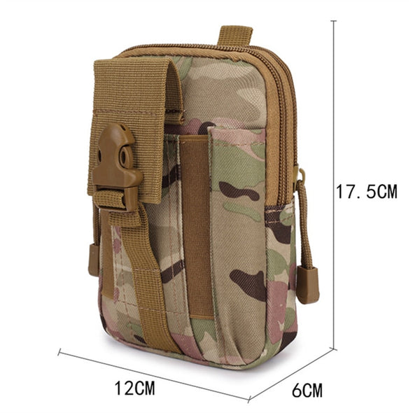 Outdoor military army travel bag for waist