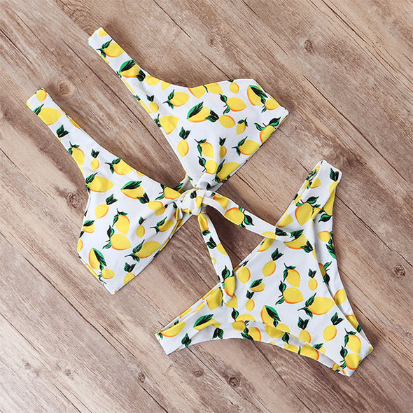 Two piece Bandage Bikini set