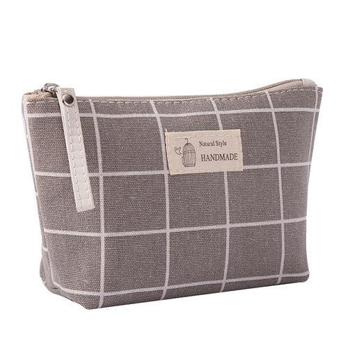 Cute outdoors travel cosmetic bag