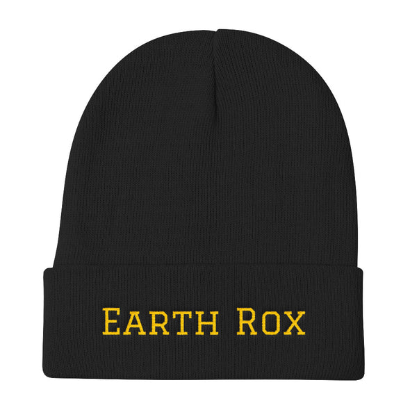 Earth Rox Black Beanie
