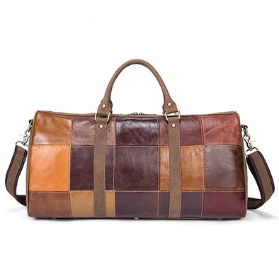 WESTAL leather block design bag