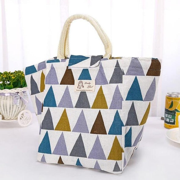Waterproof Canvas cooler Lunch Bag