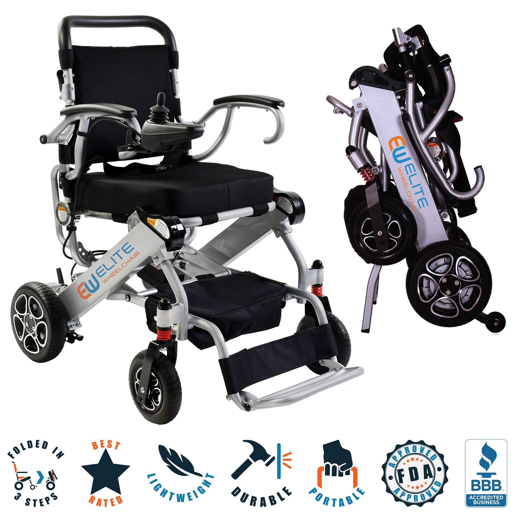 N5513A FDA Approved electric wheelchair.