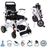 2021 Elite Wheelchair, Foldable Compact Model EW13 (White)