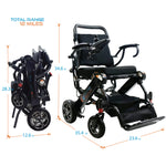 Elite Wheelchair, Model EW13 Dark Gray (N5513A).