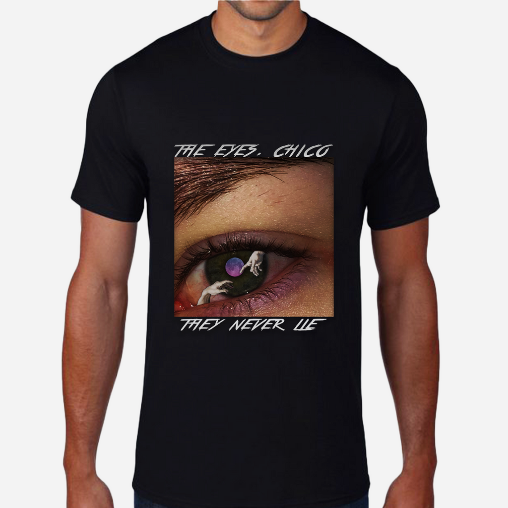 D.C. Eyes Black T-Shirt