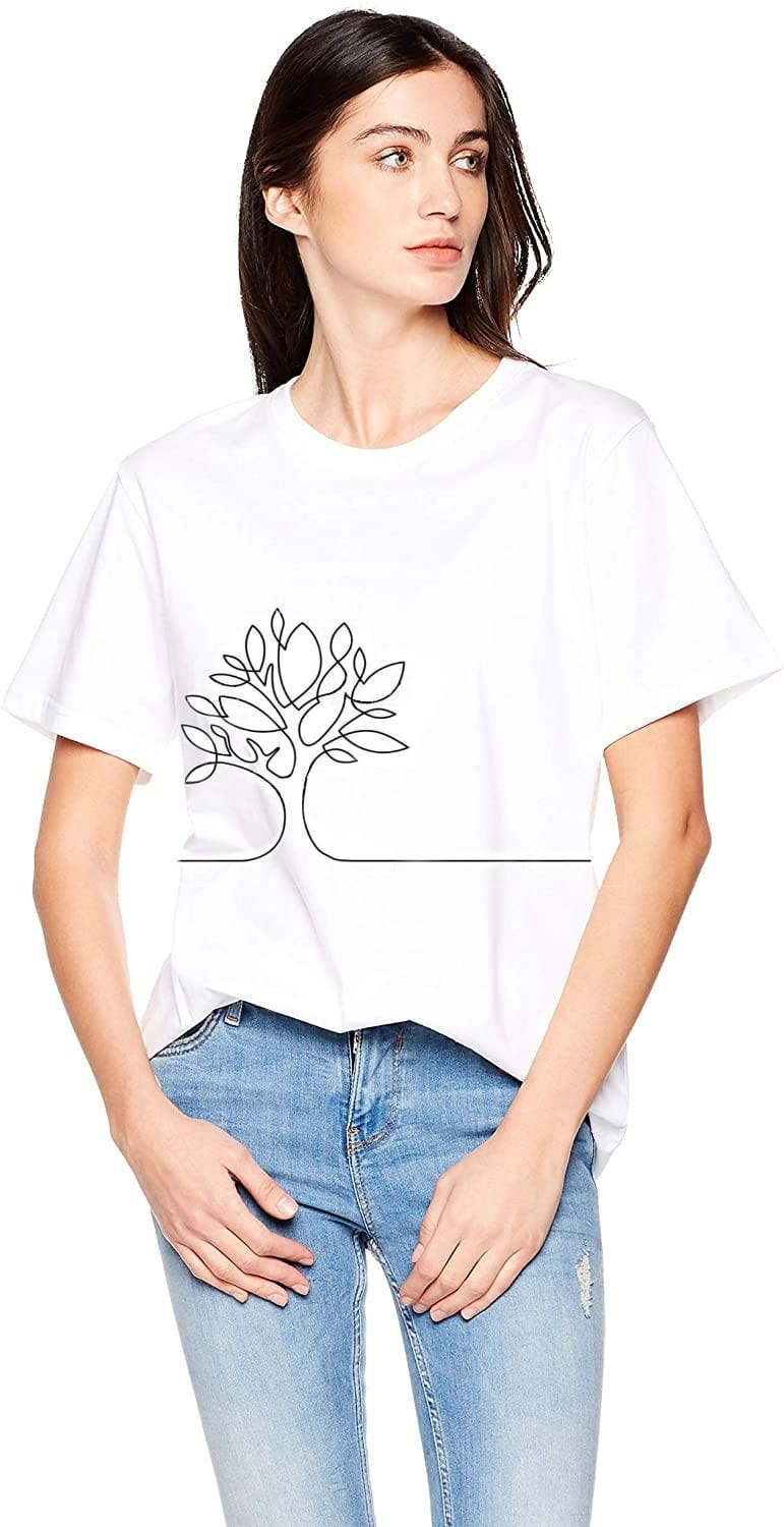 D.C. Like a TREE T-Shirt White