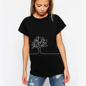 D.C. Like a TREE T-Shirt Black