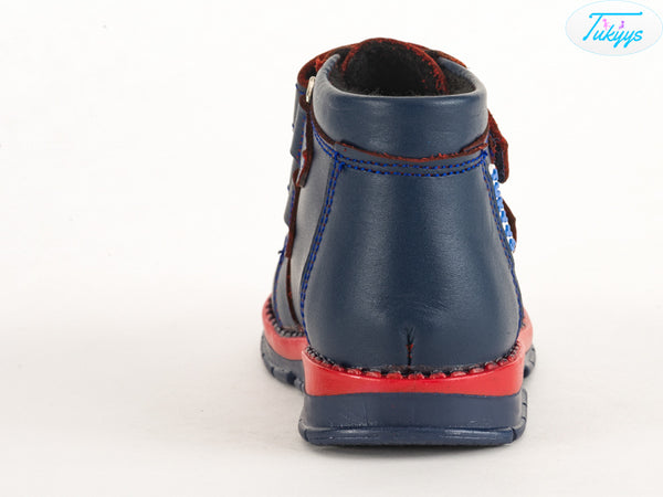 Leather Shoes for Babies & Kids - Orthopedic Insole Boys/Girls Boots