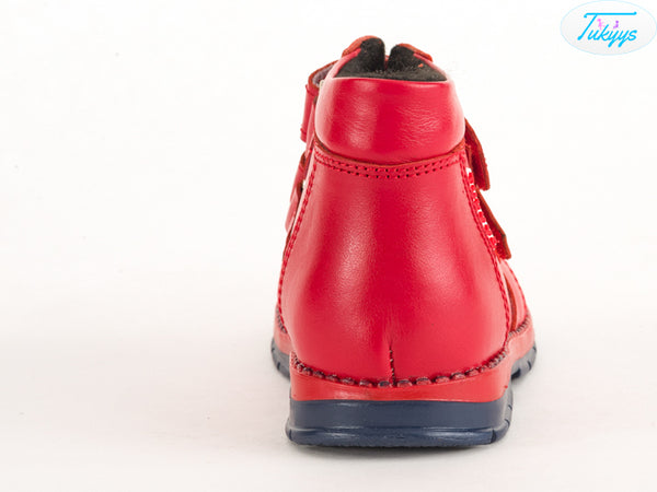 Leather Boots with Wool Lining for Winter - Boys, Girls, Kids & Toddlers