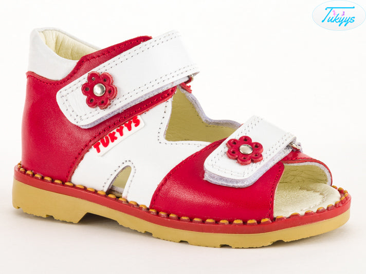 cf161a181 Leather Sandals for Babies   Kids - Orthopedic Insole Boys Girls Summer  Shoes