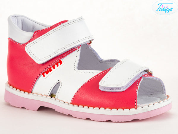 Leather Sandals for Babies & Kids - Orthopedic Insole Boys/Girls Summer Shoes