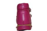 Double Velcro Fuchsia Boot 343-62