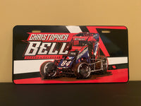 Christopher Bell 84x license plate