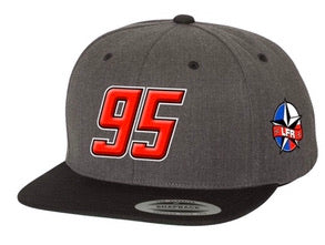 95 LFR flat bill hat