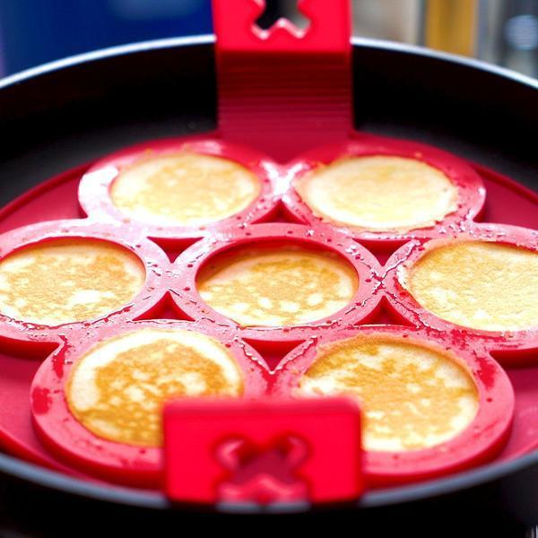 ( 75% OFF TODAY )Non Stick Egg Ring Silicone Pancakes Mold