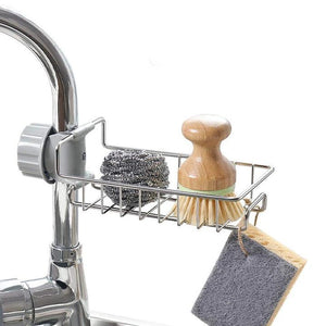 (Limited 50% off) Stainless Steel Sink Caddy Organizer