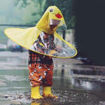 Adorable Duckie Raincoat for kids