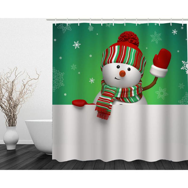 Christmas for Home Shower Curtains