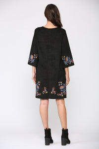Avery Embroidered Dress