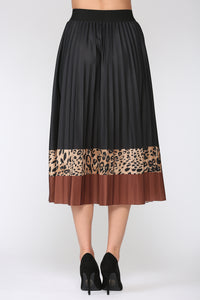 Winsley Animal Print Skirt