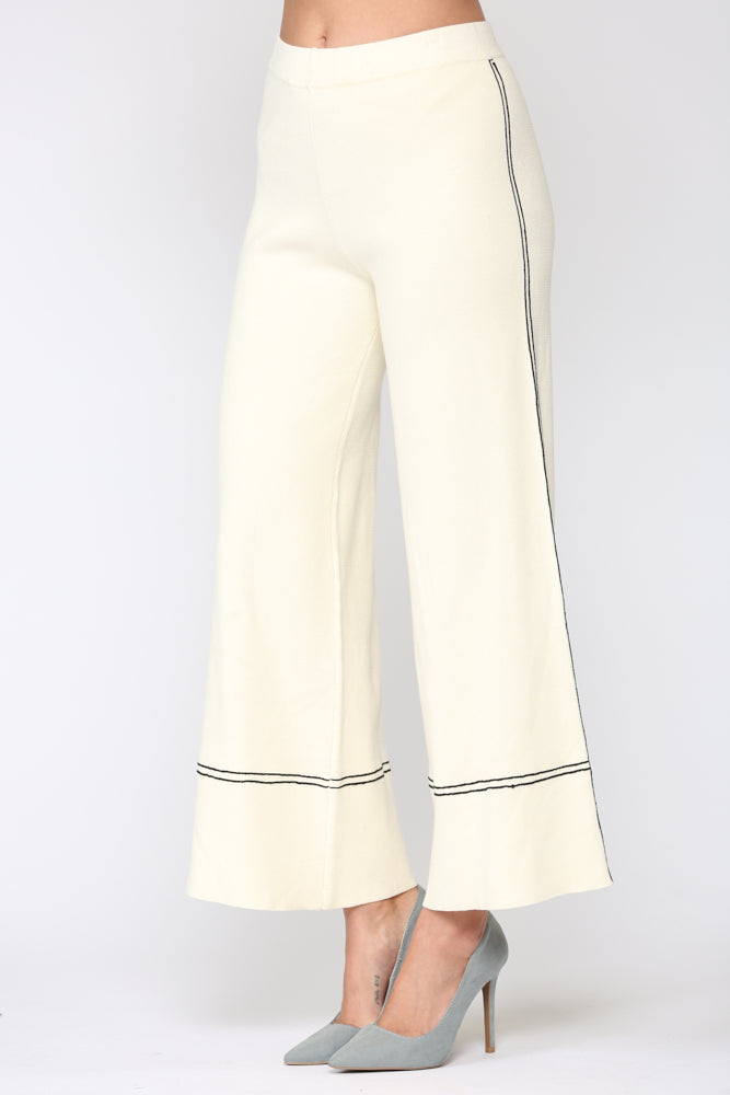 Selena Ribbed Knitted Pant