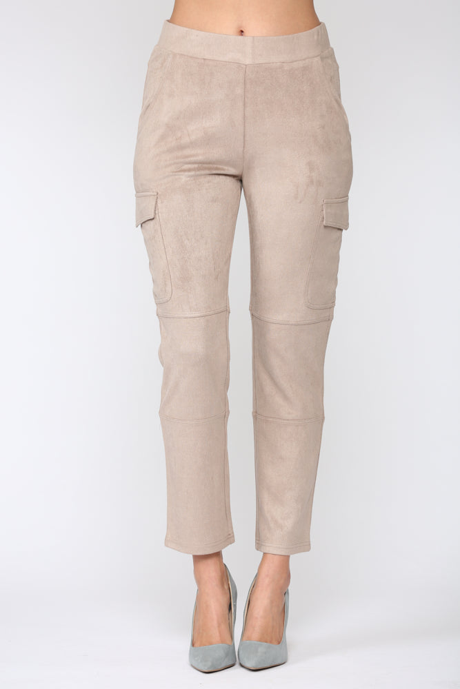 Amber Suede Pant
