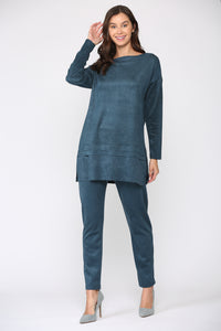 April Suede Tunic
