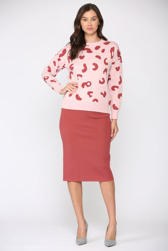 Sharlet Top - Pink Red
