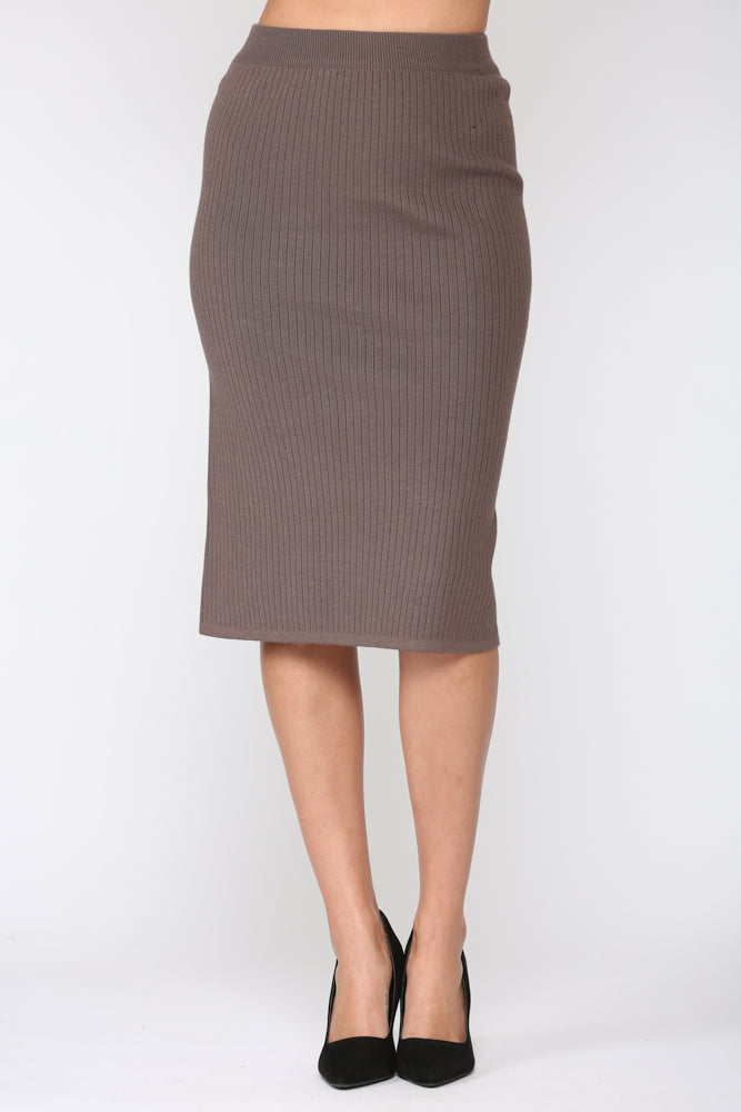 Shantelle Skirt - Brown
