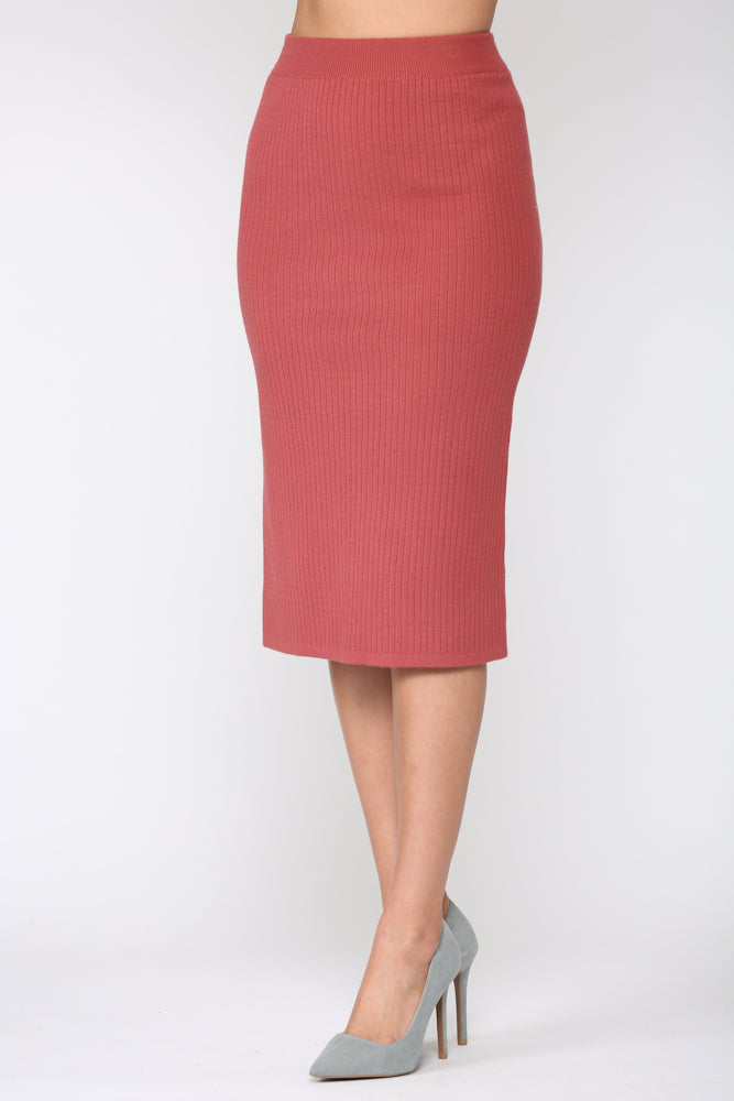 Shantelle Skirt - Pink Red