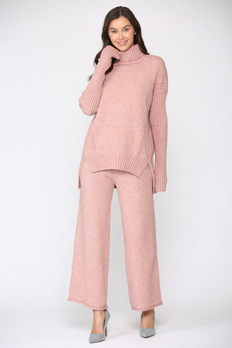 Sabrina Knitted Sweater - Pink