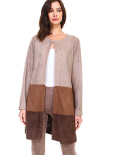 Load image into Gallery viewer, Adella Suede Jacket