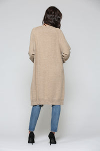 7313SW Holly Cardigan - Mocha