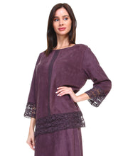 Load image into Gallery viewer, 7319A Amanda Top-Plum