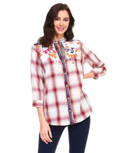 Load image into Gallery viewer, Penelope Plaid Top