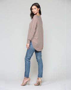 Sadie Sweater - Mocha