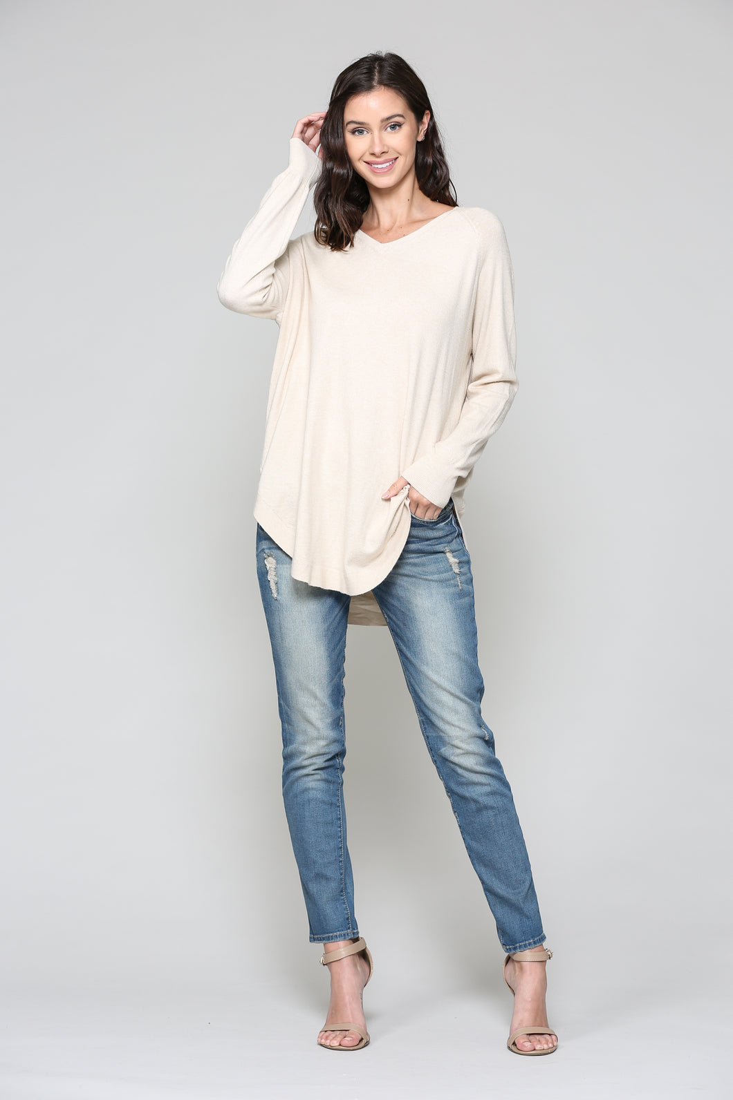 Sadie Sweater - Cream
