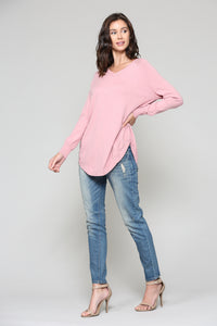 Sadie Sweater - Mauve