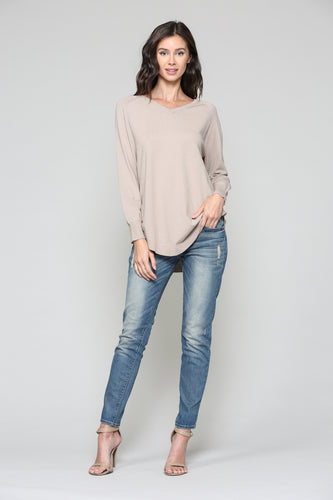 Sadie Sweater - Tan Nude