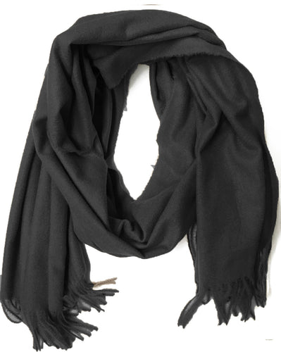 7387SF Simone Scarf-Black