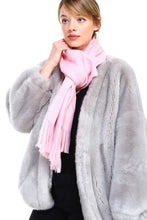 Load image into Gallery viewer, Simone Scarf/Wrap - Pink