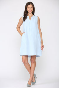 Gianna Dress 7707G Blue