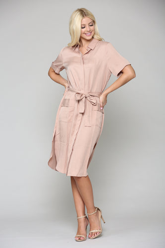 Teresa Tunic Dress - Blush