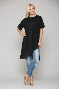 Kristen Tunic Dress 7785K Black