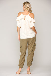 Whitney Top - Cream